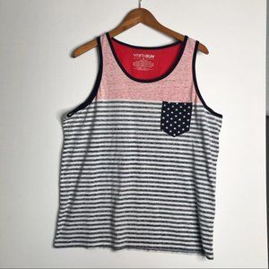 FIFTH SUN American Flag Tank Extra Large